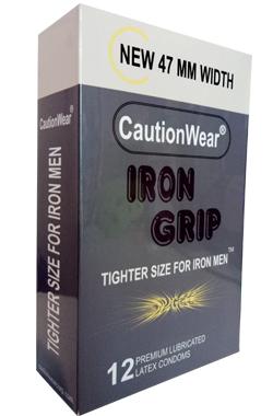Bao cao su 47 mm Iron Grip giúp ôm sát vừa vặn