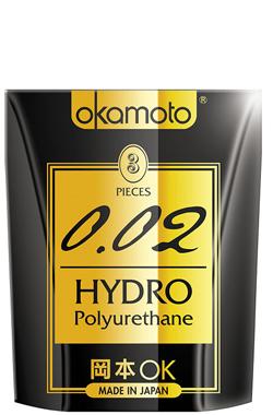 Hộp 3 Bao Cao Su Cực Siêu Mỏng Okamoto 0.02 Hydro chính hãng