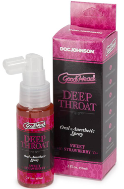 Chai xịt Oral khử mùi vùng kín Doc Johnson Strawberry hương dâu thơm ngọt
