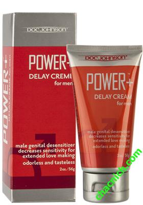 Gel chống xuất tinh sớm Power Delay Cream giúp nam giới kéo dài thời gian