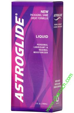 Gel bôi trơn khử mùi vùng kín và dưỡng ẩm âm đạo Astroglide Liquid USA