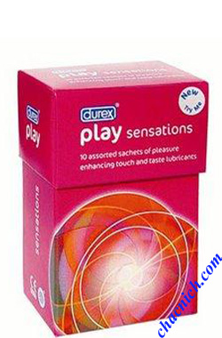 Gel Bôi Trơn Và Massager Durex Play 2 in 1