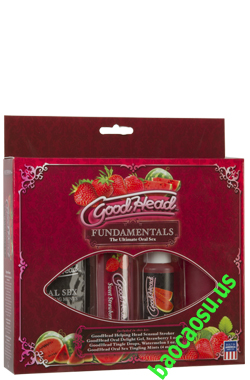 Gel Oral Sex GoodHead Fundamentals Kit