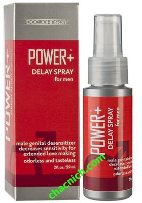 Chai Xịt Power Delay Spray Giúp Kéo Dài Thời Gian Yêu Lâu Hơn 20 phút