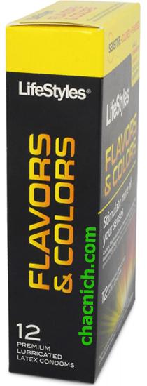 Bao Cao Su Hương Thơm Lifestyles Flavors & Colors