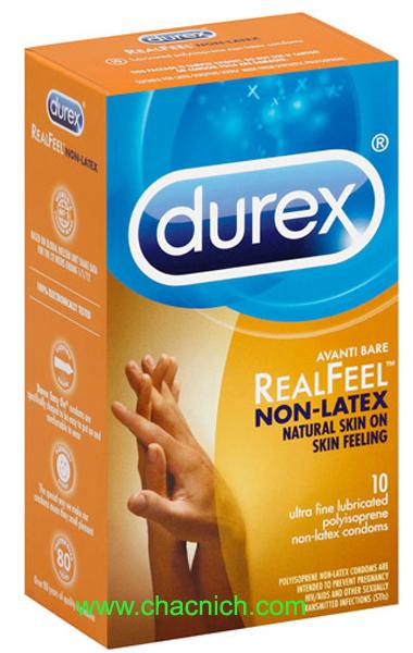 Durex Avanti Bare Real Feel ( Bao Cao Cấp Không Màu )