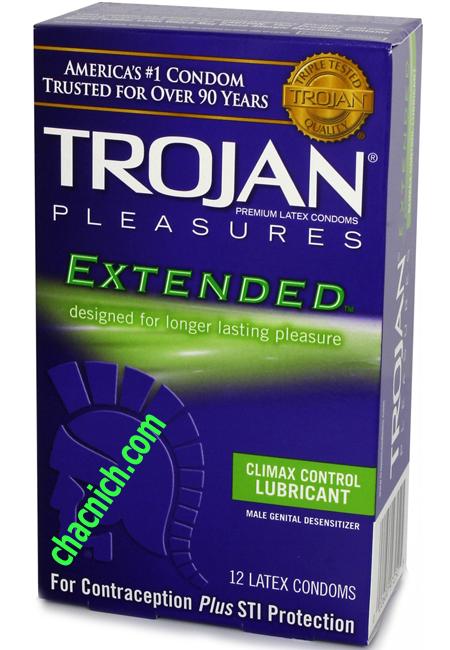 Trojan Pleasures Extended Kéo Dài Thời Gian Quan Hệ