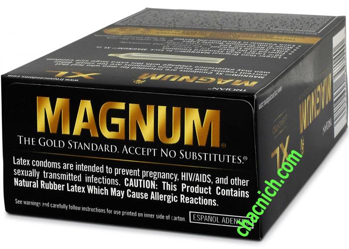 Trojan Magnum XL Bao Cao Su Kích Thước Khủng