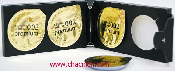 Bao Cao Su Cao Cấp Sagami 0.02 Premium