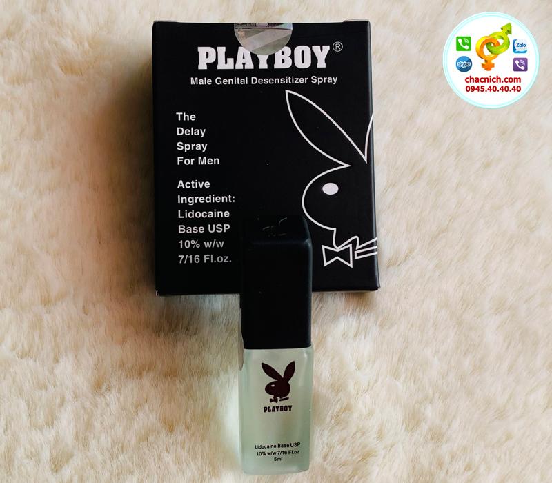 Chai Xịt PlayBoy Khắc Phục Xuất Tinh Sớm Hiệu Quả