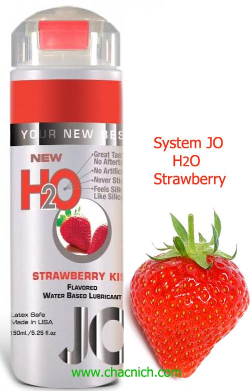 Gel Bôi Trơn Hương Dâu System JO Strawberry