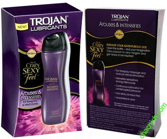 Gel Trojan Arouses & Intensifies ( Bôi Trơn Và Tăng Khoái Cảm Nữ )