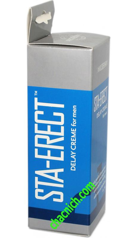 Sta-Erect Delay Cream (Gel Chống Xuất Tinh Sớm)