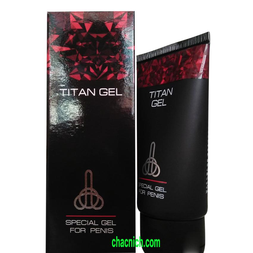 hinh ảnh gel titan chính hãng