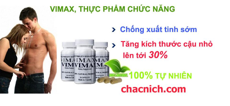 Vi.max Pills Cải Thiện Kích Thước Hiệu Quả