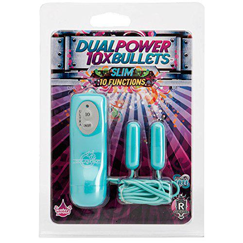 Doc Johnson Power 10x Slim (Trứng Rung 10 Chế Độ)