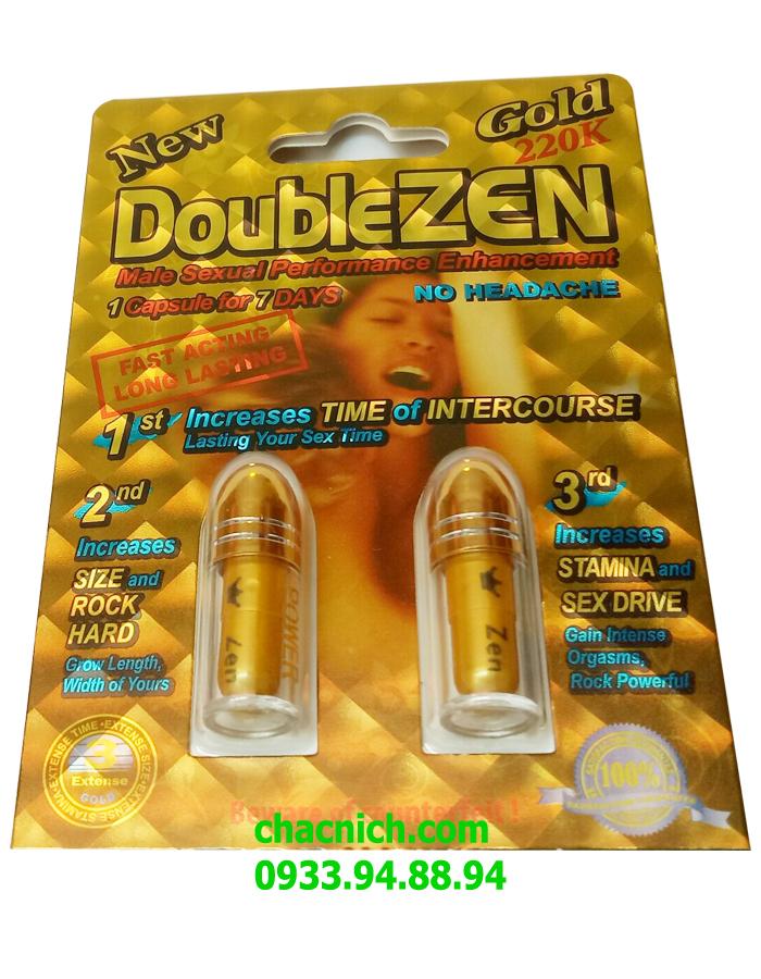 Viên Uống Kéo Dài Thời Gian QH Cho Nam DoubleZen